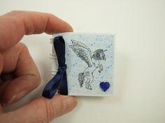Miniature Unicorn Notebook, Emergency Contact, Address Book £3.50