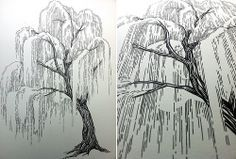 Willow Tree Drawing With Roots Willow tree tattoo willow