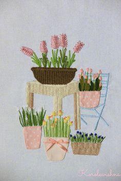 About Handmade: Весна. SAL