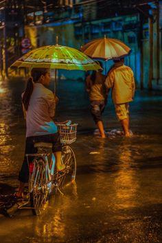 Vietnam in the Rain