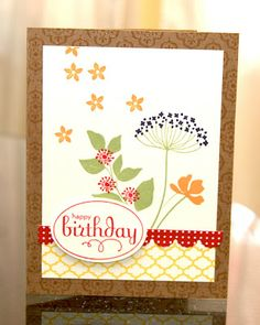 Stampin' Up! Summer Silhouettes | Planetmarce Design