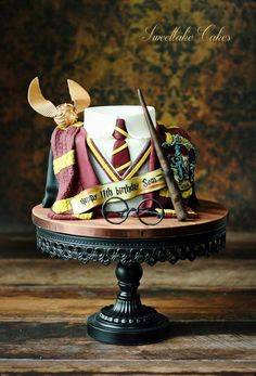 Harry Potter cake (scheduled via http://www.tailwindapp.com?utm_source=pinterest&utm_medium=twpin)