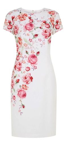 #fashion #floral #rose #garden #dress