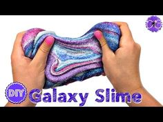 DIY GALAXY SLIME! NO BORAX NEEDED!