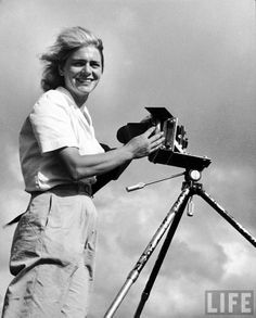 Margaret Bourke-White ~ June 14, 1904 – August 27, 1971. An American photographer and documentary photographer <3