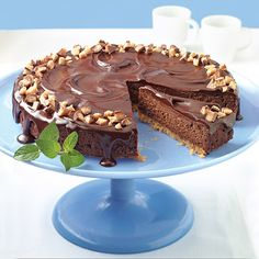 Your guests will be raving about this chocolate cheesecake for days!