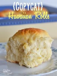 Hawaiian Rolls {Copycat}. These are fluffy and so moist!