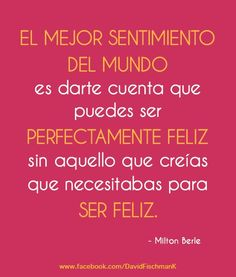 Ser Feliz!!...