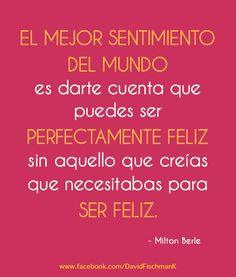 Felicidad #frases ❥Teresa Restegui http://www.pinterest.com/teretegui/❥