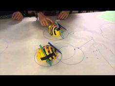 BEE BOT art project - YouTube