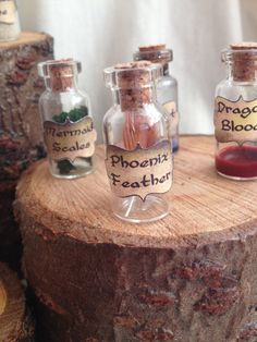 ||| magic, bottle, shadow box, potion, witchcraft, phoenix feather, mermaid scale, dragon blood, cabinet, Harry Potter