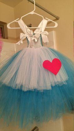 Alice in wonderland tutu dress by AuntMichellesCorner on Etsy