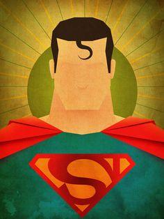 superman illustration - Google Search