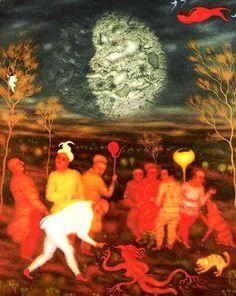 Anton, Rudolf Hausner, Vienna School Of Fantastic Realism, Cobra Art, Epoch, Naive, Drawing Reference, Printmaking, Surrealism