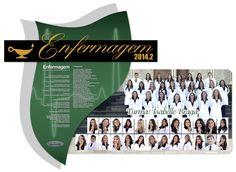 Placa de Formatura Enfermagem FATERN 2014.2
