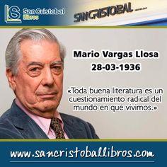 La incertidumbre es una margarita cuyos pétalos no se terminan jamás de deshojar. #MarioVargasLlosa #PremioNobel #Escritor #Peru