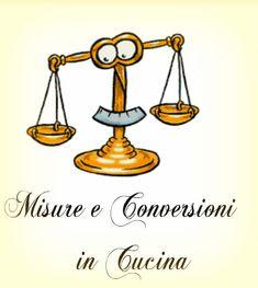 Misure in cucina e conversioni