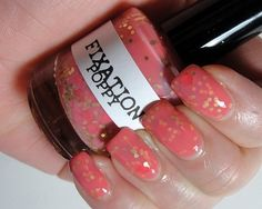 Poppy  Hand mixed nail polish by FixationPolish on Etsy, $8.25 by charlotte