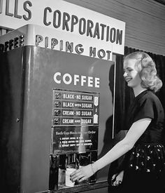 1947 ... scary coffee machine! by x-ray delta one, via Flickr