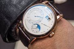Updated A. Lange and Söhne Lange 1 Moon Phase Watch With Day/Night Indicator
