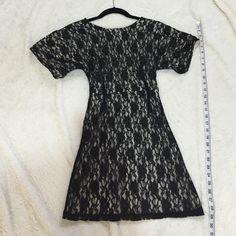 Black Lace Dress Great condition Dresses