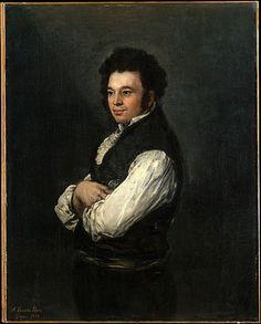Tiburcio Pérez y Cuervo (1785/86–1841), the Architect  Goya (Francisco de Goya y Lucientes) (Spanish, Fuendetodos 1746–1828 Bordeaux)