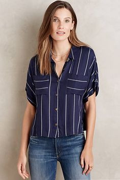 Pinstripe Buttondown
