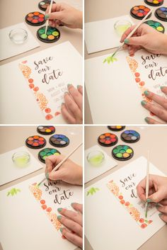 Check Out These Adorable FREE Printable Save the Date Postcards!
