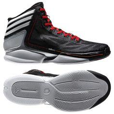new arrival 5294b 32ed0 ADIZERO CRAZY LIGHT 2.0 SHOES Basketball Sneakers, Sneakers Nike, Black  Shoes, Air Jordans