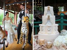 The Spoiled Lady   American Tuxedo   Nashville Zoo   Elizabeth Jean Photography   Sweet Face Cakes   http://www.beuweddings.com/