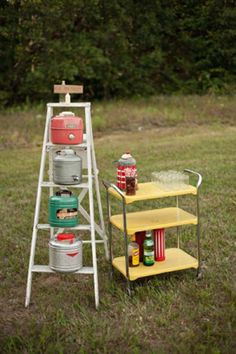 Real Wedding, Campfire Wedding Ideas23: Summer Camp Wedding