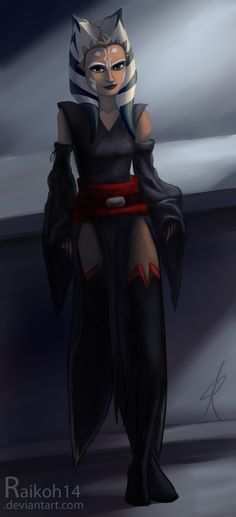 A new outfit for Ahsoka by Raikoh-illust.deviantart.com on @deviantART