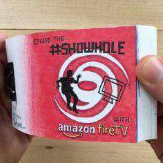 Handdrawn Showhole Flipbook advert [OC] http://ift.tt/2bFPYE4 http://ift.tt/2cu97ZK
