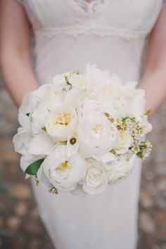 Wedding Flowers: For the Bride and Groom at Morrison House in Old Town Alexandria, Virginia