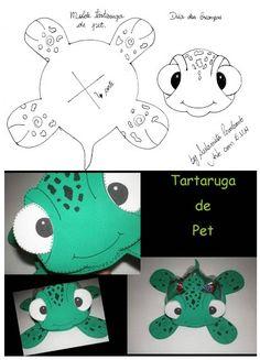 Educação Infantil, Criatividade e Amor: Molde da tartatuguinha- aprendendoecriandoemeva.blogspot.com