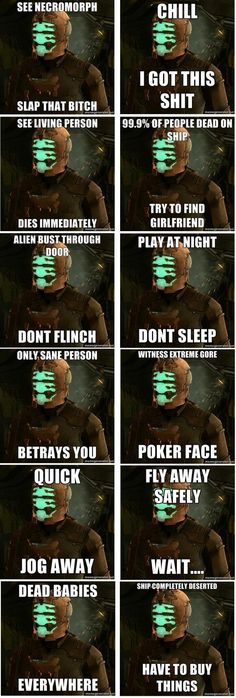 Dead Space Meme Collection