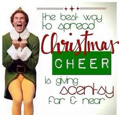 Wickless candles and scented fragrance wax for electric candle warmers and scented natural oils and diffusers. Shop for Scentsy Products Now! Scented Wax Warmer, Scentsy Independent Consultant, Buddy The Elf, Thirty One Gifts, Christmas Shopping, Let It Be, Christmas Countdown, Cheer, 18th
