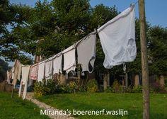 Miranda's boerenerf waslijn - fotoproject 'Waslijnen vol verhalen'