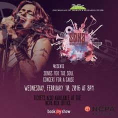 #Mumbai this week, be a part of a noble cause with #SonaMohapatra at the Soul conecrt. Click on the image to book tix.