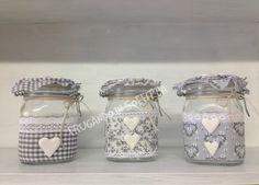 1000 images about barattoli decorati on pinterest jars - Barattoli decorati shabby ...