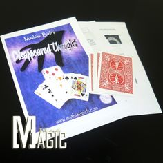 Disappeared Thought by Mathieu Bich close-up street stage cards magic tricks products toys free shipping   http://www.buymagictrick.com/products/disappeared-thought-by-mathieu-bich-close-up-street-stage-cards-magic-tricks-products-toys-free-shipping/  US $5.00  Buy Magic Tricks