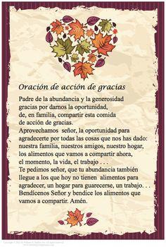 ORACION DE GRACIAS
