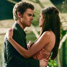 Stefan Salvatore and Elena Gilbert | Vampire Diaries