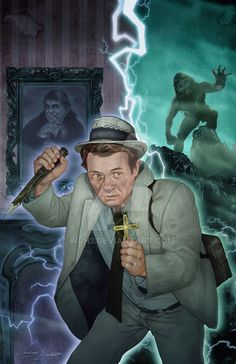 A little tribute to one of my all time favorite TV shows. For those not familiar, Kolchak : The N. Kolchak: The Night Stalker Horror Icons, Horror Films, Horror Art, Ghost Movies, Scary Movies, Dark Shadows Tv Show, Fantasy Tv, Sci Fi Shows, Classic Horror Movies
