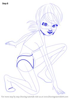 Learn How to Draw Ladybug from Miraculous Ladybug (Miraculous Ladybug) Step by Step : Drawing Tutorials Learn Drawing, Learn To Draw, Figure Drawing, Lady Bug, Drawing Tutorials, Art Tutorials, Gravity Falls Fan Art, Miraculous Characters, Miraculous Ladybug Fan Art