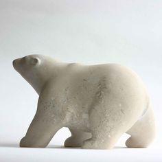Bear Portland - Portland Limestone – 12″ x 7″ x 8″