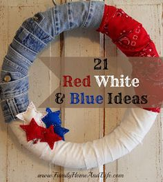 Family Home and Life: 21 Fourth of July Ideas