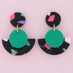 Australian Handmade Polymer Clay Earrings | Fandangles 2.0 #earringshandmadepolymer