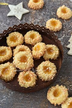Ciasteczka morelowe Biscotti, Fika, Pumpkin Cheesecake, Food Cakes, Doughnut, Nom Nom, Cake Recipes, Muffin, Cookies