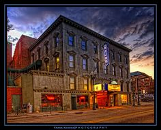 The beautiful Bijou Theatre on Gay Street in downtown Knoxville. Always has a historic, sentimantal vibe...